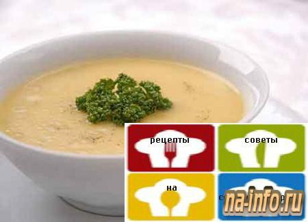 Куриный суп-пюре пошаговый рецепт