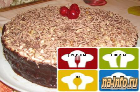 Рецепт торта с 1 стаканом муки