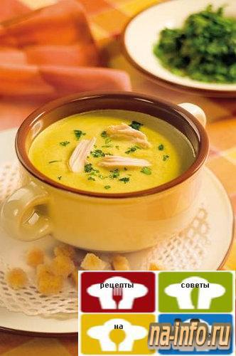 Рецепт овощного супа-пюре фото